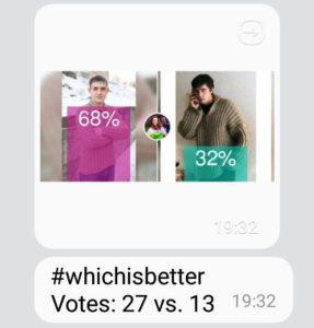 Результаты опроса по свитеру Брат